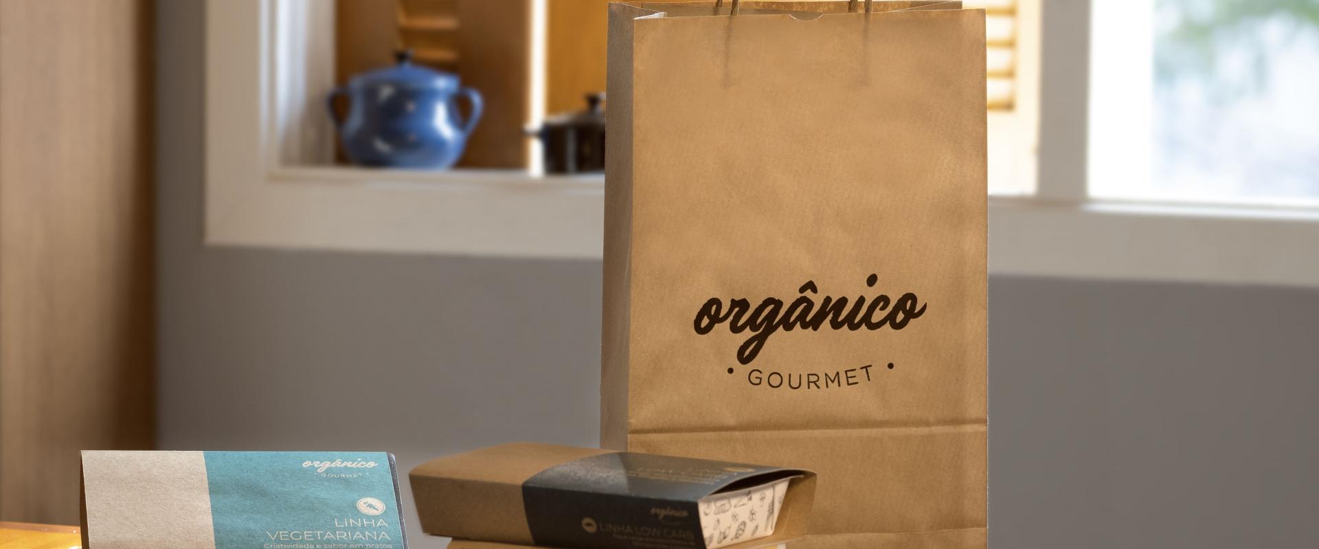 Embalagens da Orgânico Gourmet