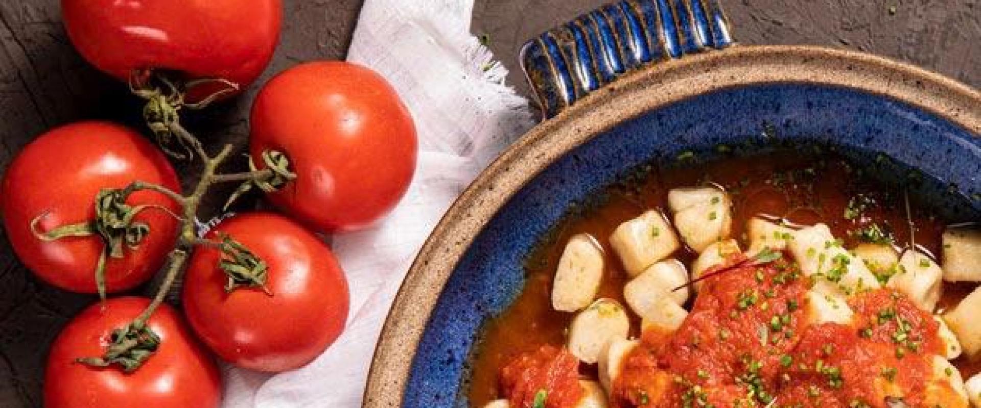 Tomates e gnocchi Organico Gourmet