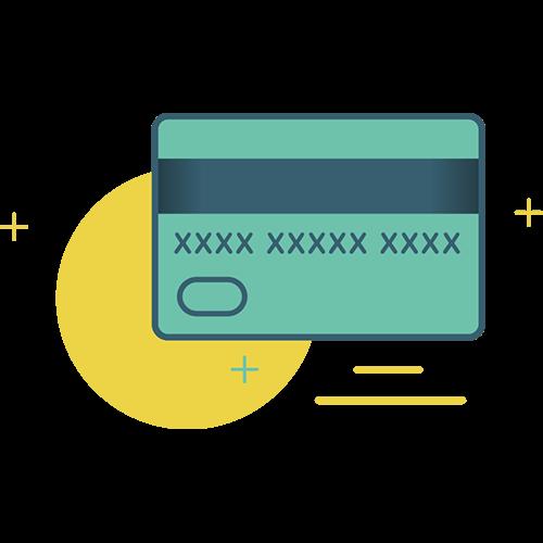 Com qualquer cartão: crédito, débito ou vale-refeição, na maquininha que está ao lado do nosso freezer